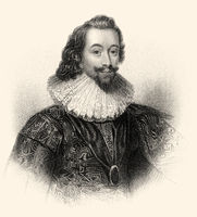 George Villiers, 1st Duke of Buckingham, 1592-1628, an English statesman