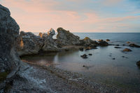Rocks at the coast of Gotland