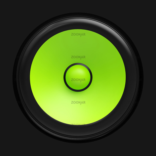 Big green speaker