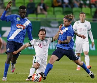 Ferencvaros - MTK Budapest OTP Bank League football match