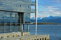 Glass, beton and nature,Scandic Seilet Hotel,Molde
