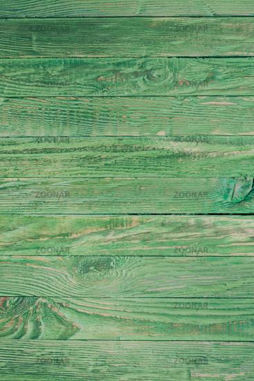 Wooden green background