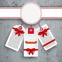 Emblem Christmas Price Stickers Concrete PiAd