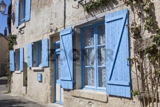 Architecture of Azay-le-Rideau, Indre-et-Loire, France