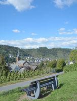 Wine Village of Alken,Mosel Valley,Germany