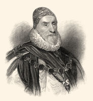 Charles Howard, 1st Earl of Nottingham, Howard of Effingham, 1536-1624, an English statesman Admiral