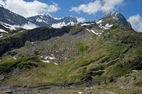 Am La Saufla Bach nahe der Felsstufe Pas d'Encel