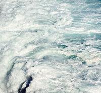 Sea foam, Atlantic Ocean. Tenerife, Canary Islands. Spain