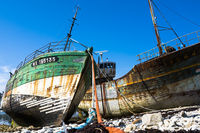 Wracked Ships in Camaret