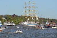 Hafengeburtstag 2016 Einlaufparade