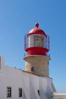 The lighthouse at Cabo de Sao Vicente