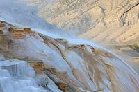 Mammoth Hot Springs Yellowstone NP