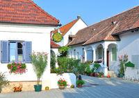 Wine Village of Moerbisch at Lake Neusiedl,Burgenland,Austria