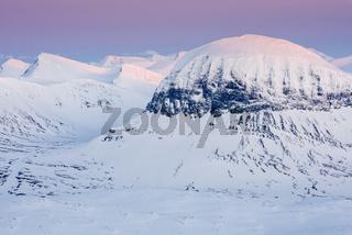 Gipfel im Sarek Nationalpark, Lappland