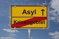 Ende Krisengebiet, Beginn Asyl | End of conflict area, start Asy