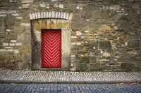 Hildesheim - Old town alley
