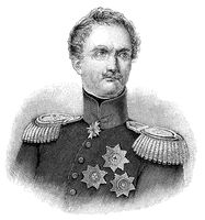 Friedrich Heinrich Ernst Graf von Wrangel, 1784-1877, Prussian general field marshal