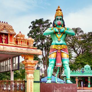 Statue of Hanuman, Kuala Lumpur - Malaysia