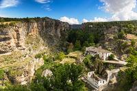 Canyon at Alhama de Granada, Andalusia, Spain