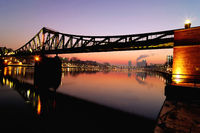 Frankfurt Brigde over river main