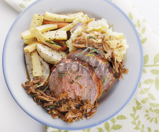 Beef Roast and Vegetables