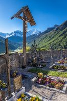 Old cemetery in South Tyrol