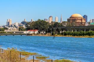 View of San Francisco downtown.