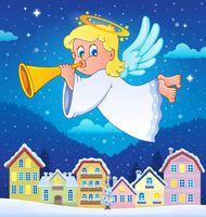 Angel theme image 6 - picture illustration.