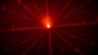 red laser background