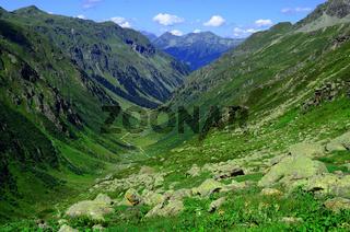 Garneratal, Berglandschaft im Montafon, Oesterreich,