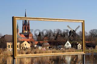 Alte Kirche 002. Werder. Deutschland