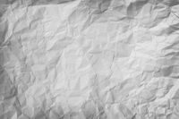 Crumpled piece of gray paper background