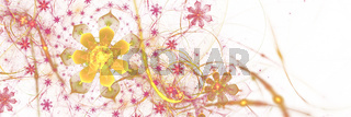 Fraktale Blüten