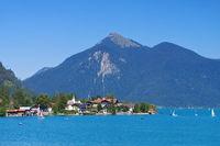 Walchensee - Walchenlake in Bavaria