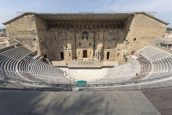 The ancient theatre in Orange, France