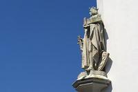 Celle - Skulptur von Herzog Otto II.