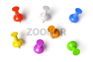 push pins set