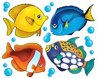 Coral reef fish theme collection 2 - picture illustration.