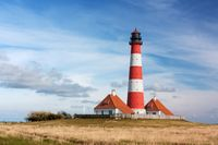 Leuchtturm Westerhever an der Nordsee
