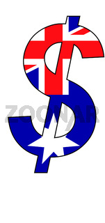 dollar - flag of australia