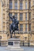 Richard Coeur de Lion statue in London