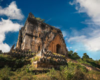 Buddhist Temple ruins in Inwa city. Myanmar (Burma)