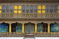 Krönungstempel in der Klosterfestung Punakha Dzong