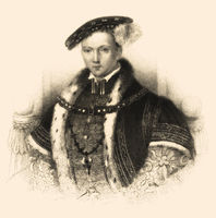 Edward VI, 1537-1553, King of England and Ireland