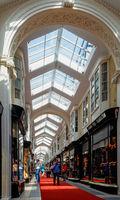 Burlington Arcade in London, UK