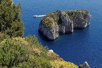 Scoglio del Monacone at Capri