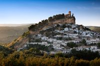 Montefrio at a sunny day, Province of Granada, Spain