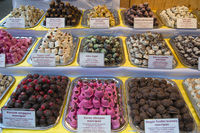 Filled chocolate in Budapest Hungary