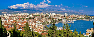 City of Split panoramic view