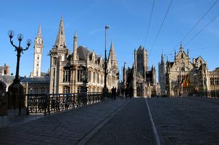 St.Niklaaskerk und Belfort in Gent